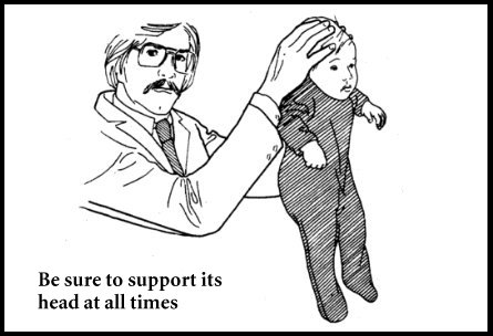 Always support the babies head